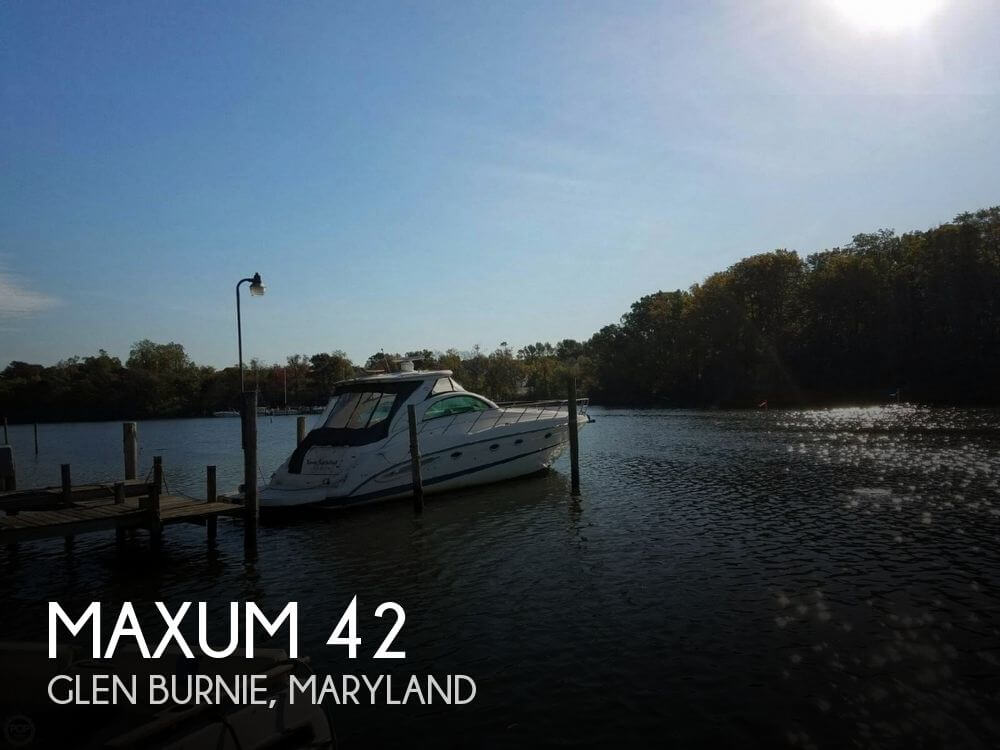 Used Maxum Boats For Sale by owner | 2006 Maxum 42