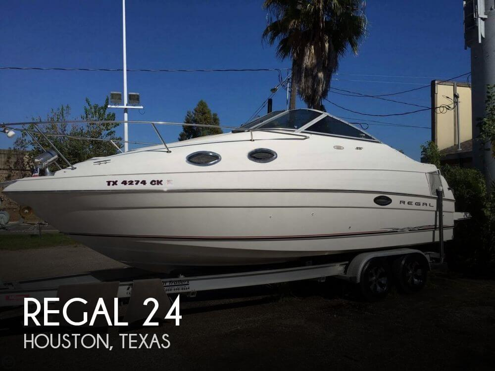 24 foot regal 24 24 foot motor boat in houston tx
