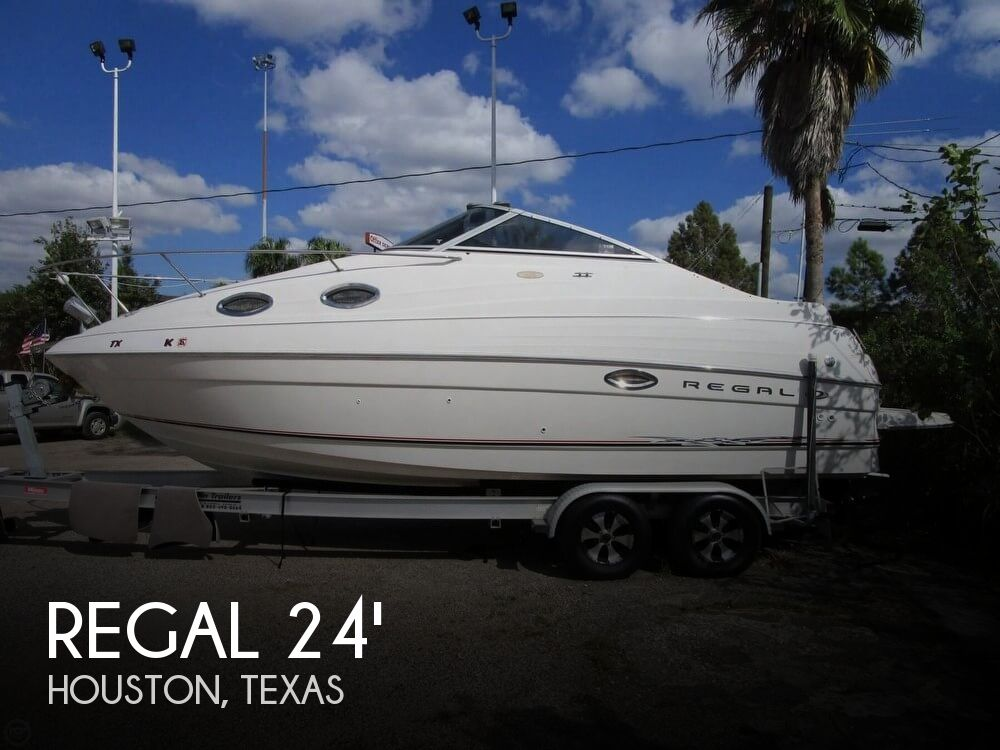 For sale used 2002 regal 2465 commodore in houston texas for Used fishing boats for sale in houston