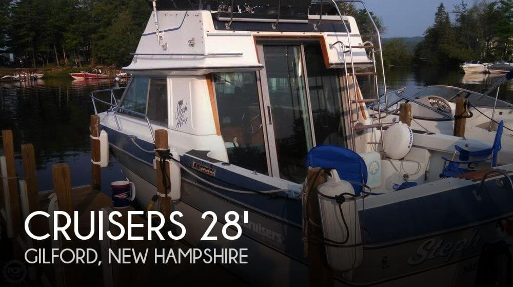 1986 CRUISERS YACHTS 298 VILLA VEE for sale