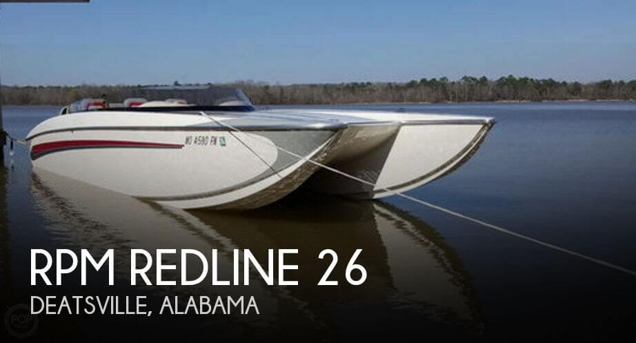 Used Boats For Sale in Montgomery, Alabama by owner | 2008 RPM Redline 26