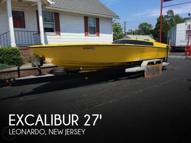 Used Excalibur Boats For Sale by owner   1980 Excalibur 27
