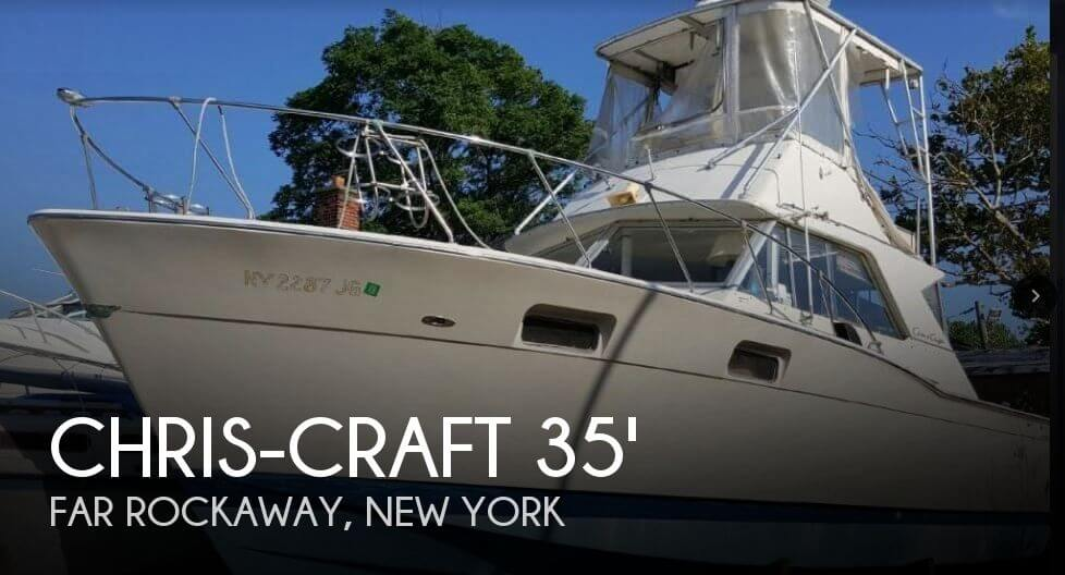 Used Chris-Craft Boats For Sale in New York by owner | 1970 Chris-Craft 35