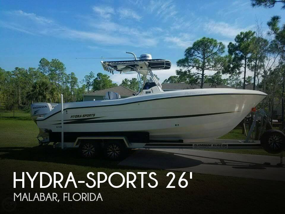 Used Hydra-Sports Boats For Sale by owner | 2001 Hydra-Sports 26