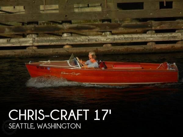 Used Chris-Craft Boats For Sale in Washington by owner | 1957 Chris-Craft 17