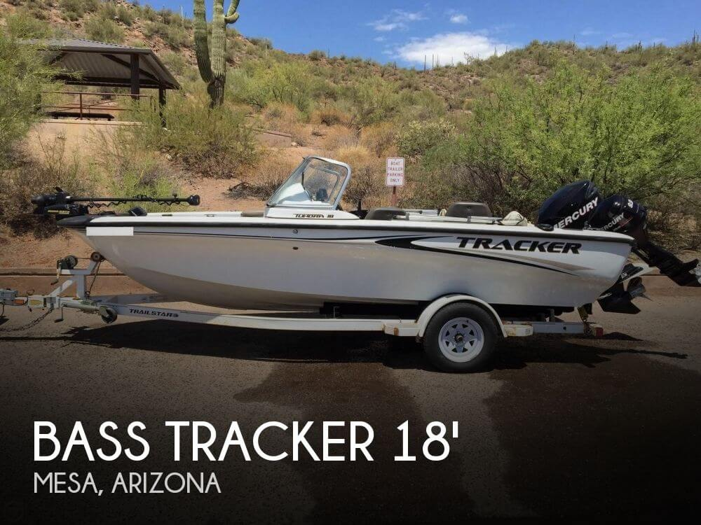 Sold bass tracker pro tundra 18 boat in mesa az 116898 for Bass pro fishing sale