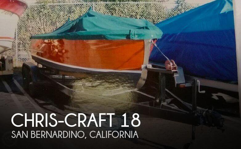 Used Chris-Craft Boats For Sale in California by owner | 1945 Chris-Craft 18