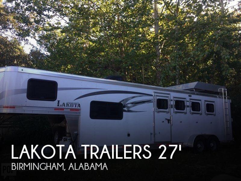 2016 Lakota Trailers 7409LQ