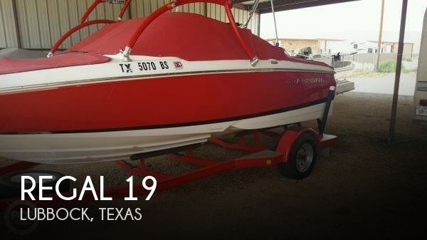 Used Boats For Sale in Lubbock, Texas by owner | 2006 Regal 19