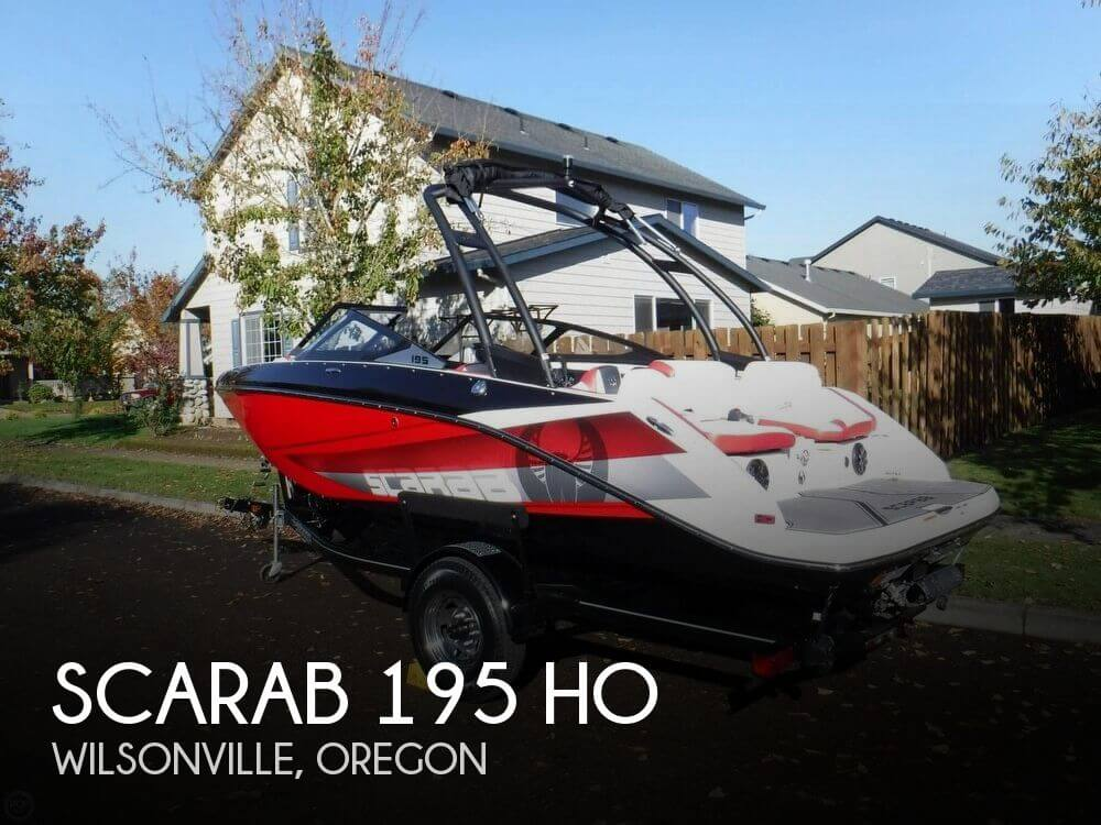 Used Boats For Sale in Salem, Oregon by owner | 2016 Scarab 19