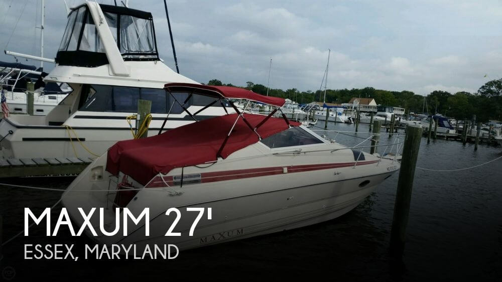 Used Maxum Boats For Sale in Maryland by owner | 1990 Maxum 27
