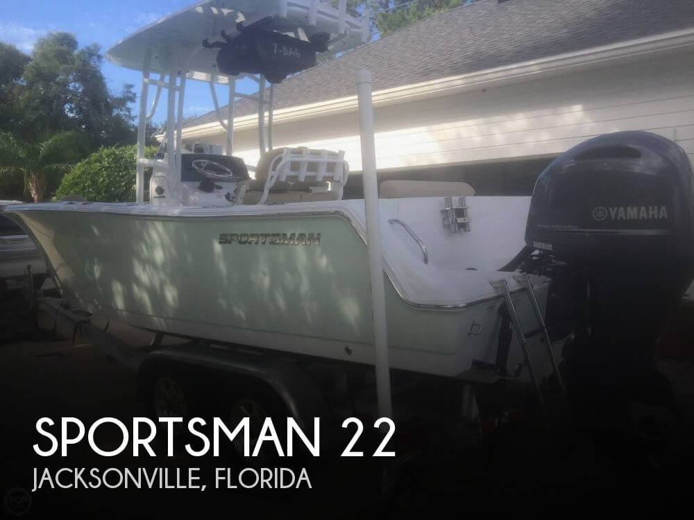 2015 SPORTSMAN BOATS 22 for sale