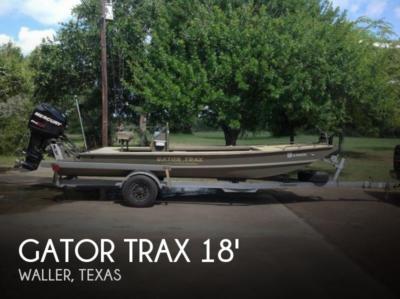 Used Gator Trax  Boats For Sale by owner | 2011 Gator Trax 18