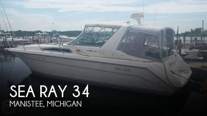 Used Sea Ray Boats For Sale in Michigan by owner   1991 Sea Ray 34