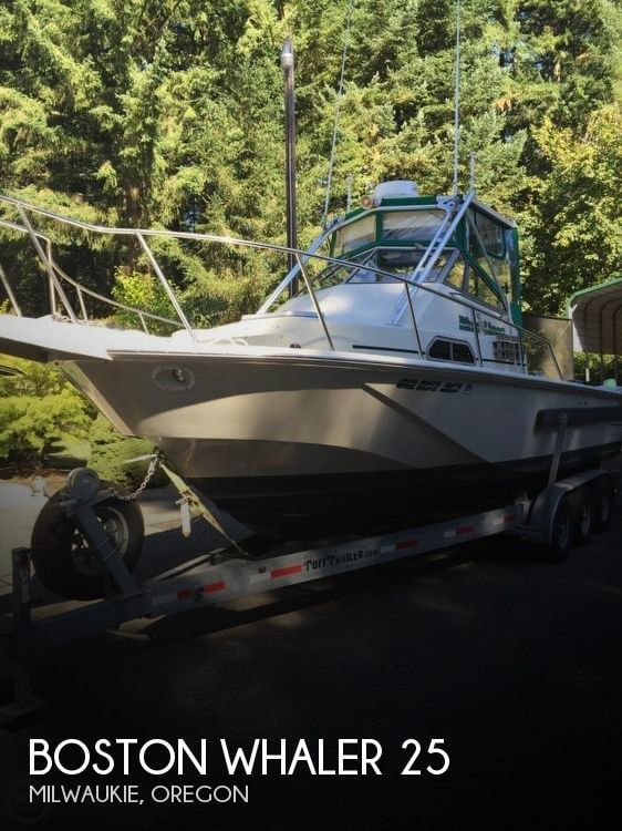 Used Boats For Sale in Portland, Oregon by owner | 1991 Boston Whaler 25