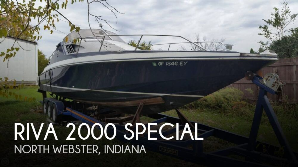 Used Boats For Sale in Fort Wayne, Indiana by owner | 1975 Riva 2000 Special