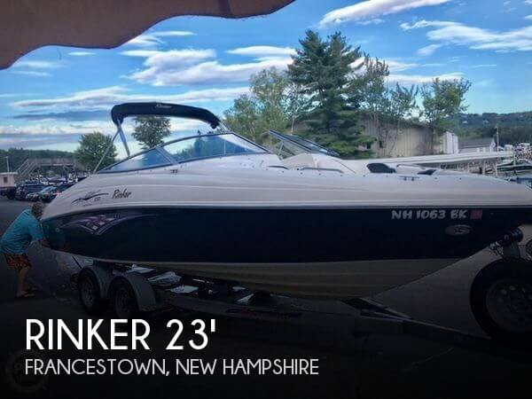 For sale used 2005 rinker 232 captiva liberty edition in for Ski liberty cabin rentals