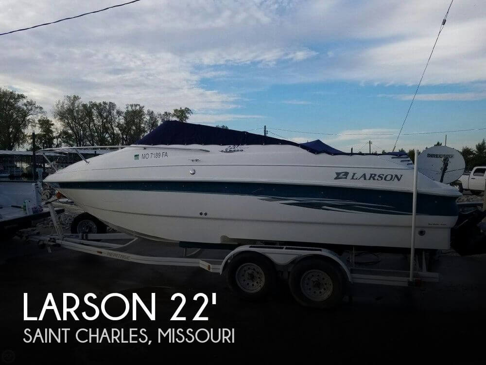 20 Foot Larson 20 20 Foot Motor Boat In Saint Charles Mo