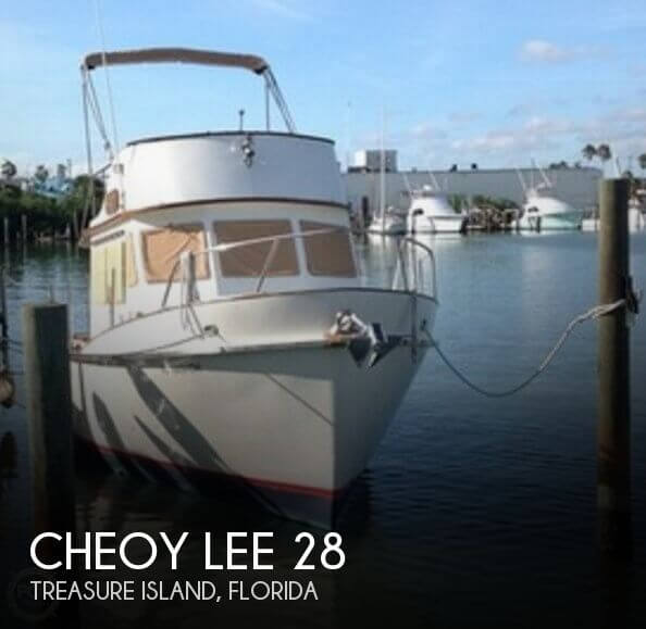 Used Cheoy Lee Boats For Sale by owner | 1977 Cheoy Lee 28