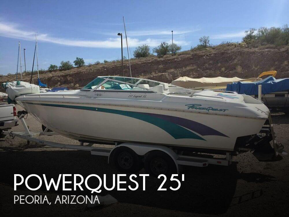 Used Powerquest Boats For Sale by owner   1995 Powerquest 25