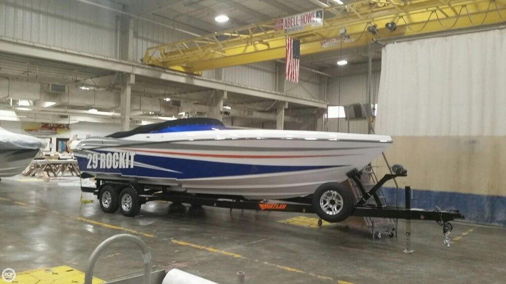 2017 Hustler boat for sale, model of the boat is 29 Rockit MC & Image # 6 of 41