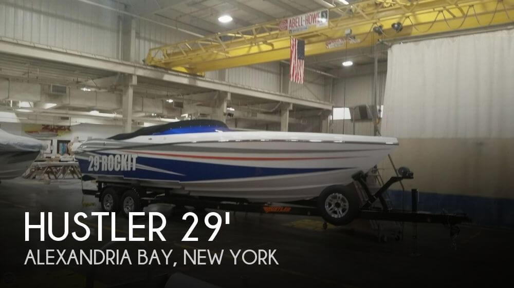 Used 29 Boats For Sale by owner | 2017 Hustler 29 Rocket MC