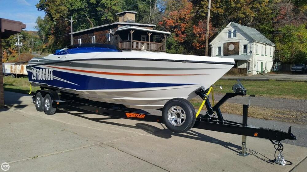 2017 Hustler boat for sale, model of the boat is 29 Rockit MC & Image # 5 of 41