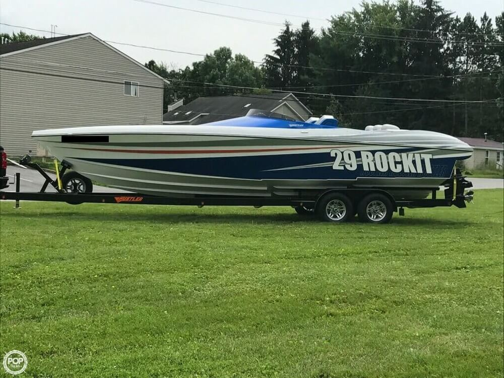 2017 Hustler boat for sale, model of the boat is 29 Rockit MC & Image # 3 of 41