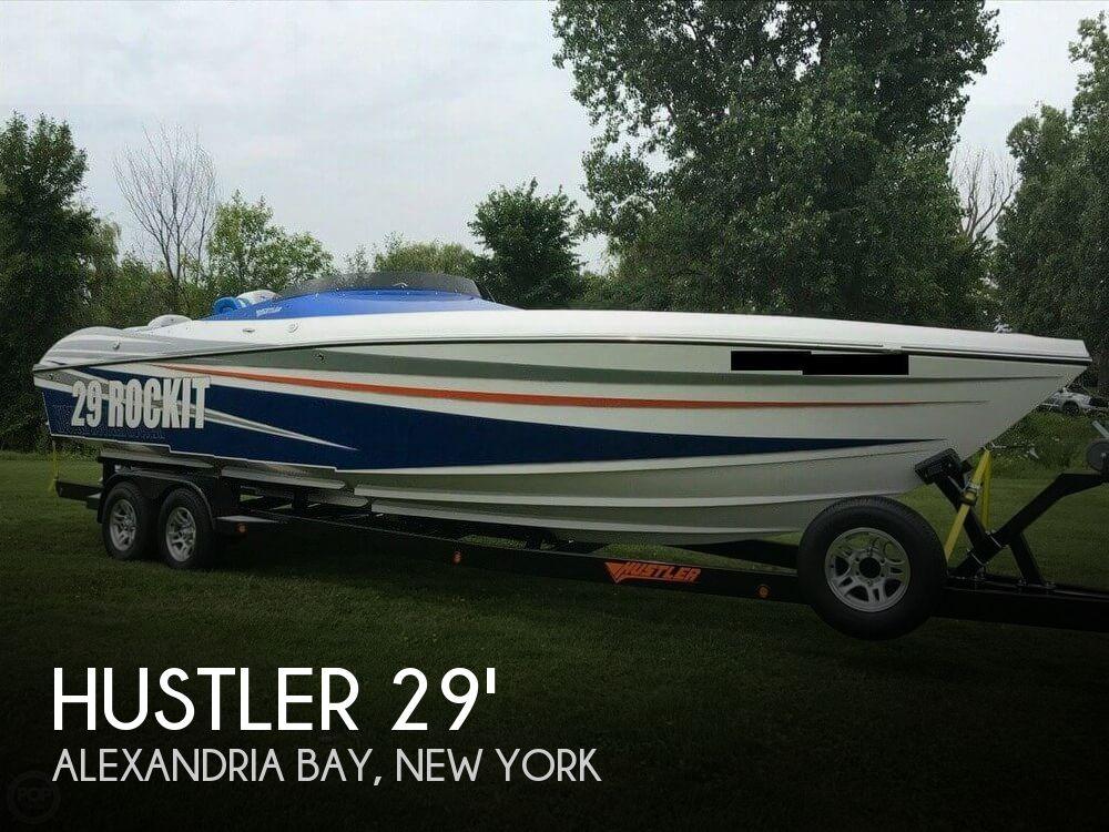 2017 Hustler boat for sale, model of the boat is 29 Rockit MC & Image # 1 of 41
