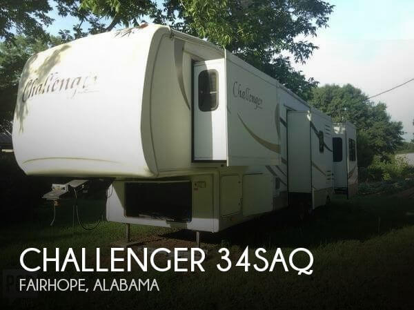 2008 Keystone Challenger 34SAQ