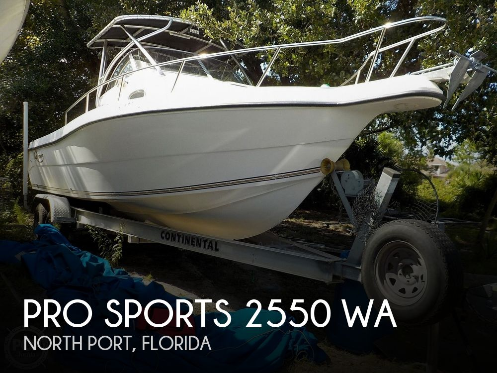 Used Pro Sports Boats For Sale by owner | 2003 Pro Sports 2550 WA