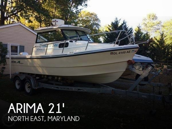 Used Ski Boats For Sale in Maryland by owner | 2007 Arima 21