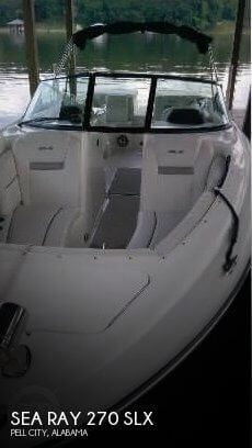 Used Sea Ray 270 Boats For Sale by owner | 2006 Sea Ray 270 SLX