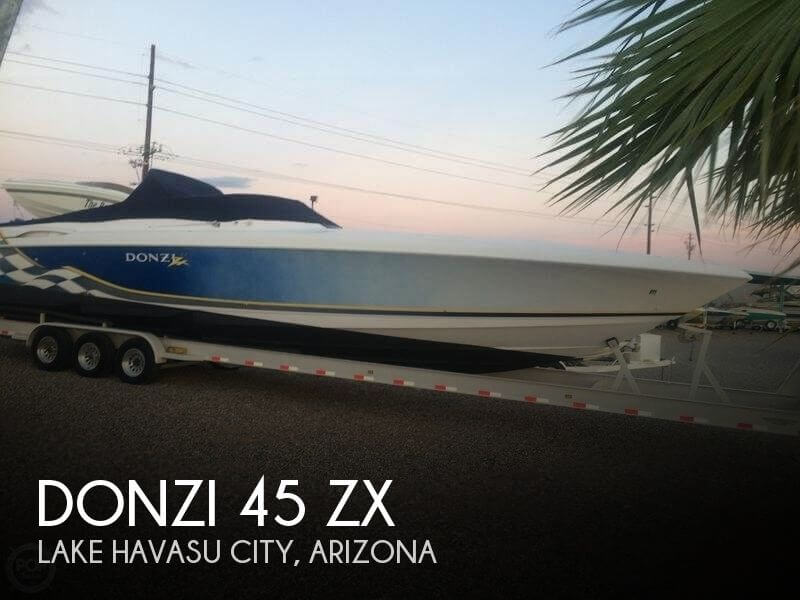 Used High Performance Boats For Sale by owner | 2001 Donzi 45