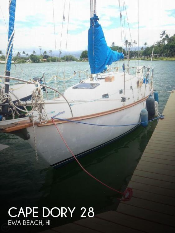 Used Boats For Sale in Honolulu, Hawaii by owner   1975 Cape Dory 28