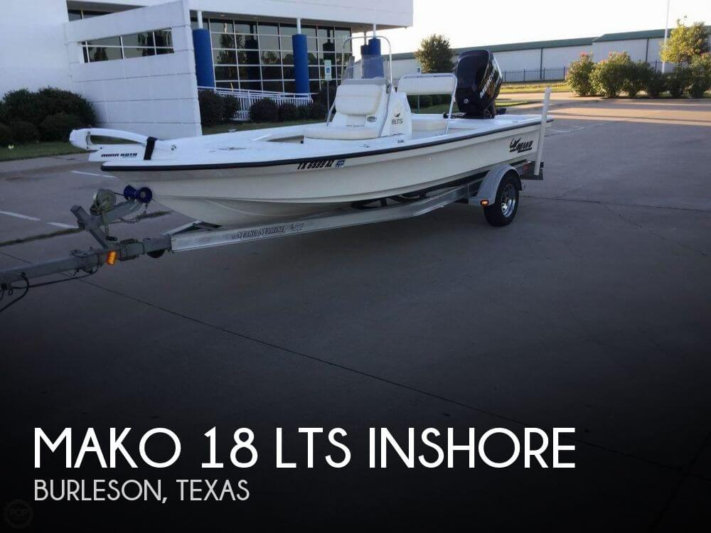 Mako 18 39 boat for sale in burleson tx for 18 500 pop for Stock fish for sale texas