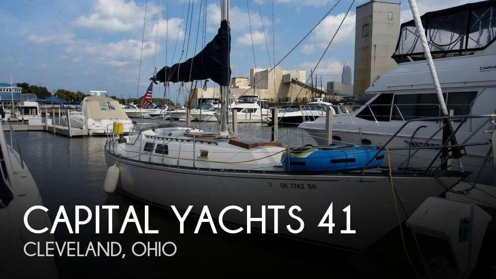 Used Capital Yachts Boats For Sale by owner | 1975 Capital Yachts 41