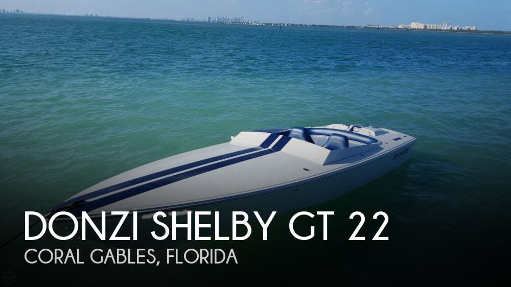 Donzi For Sale >> SOLD: Donzi Shelby GT 22 boat in Coral Gables, FL | 117412