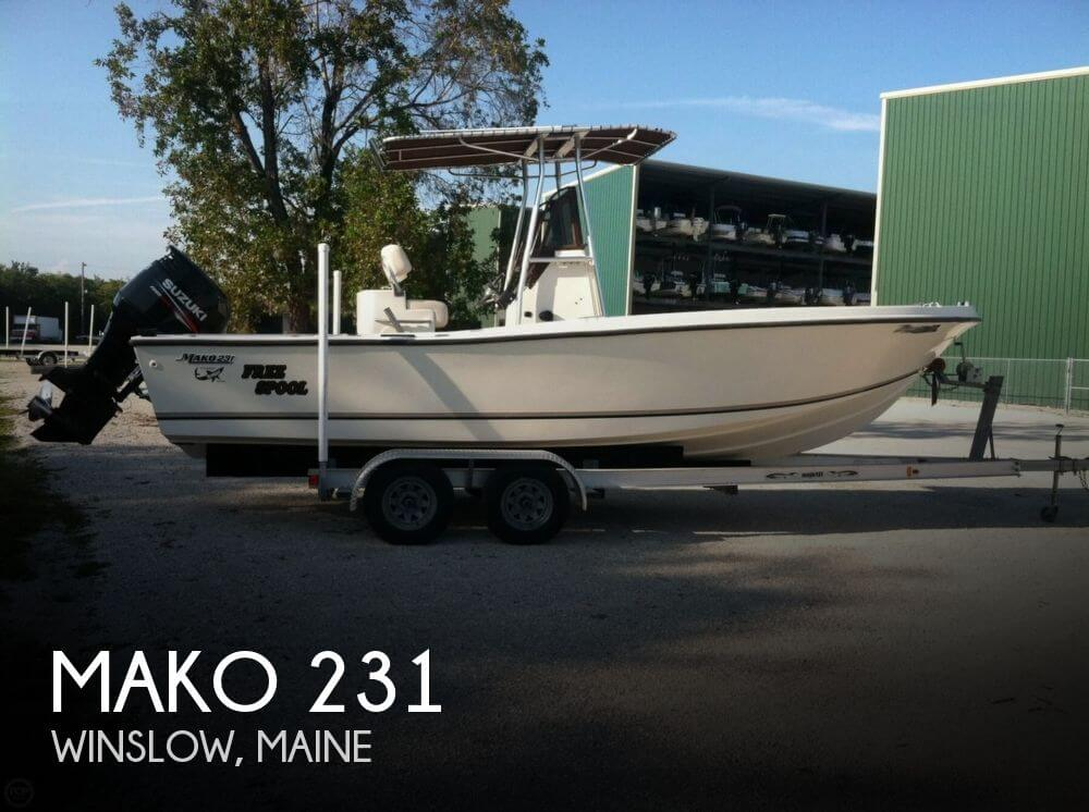 Sold mako 231 boat in winslow me 117416 for Fishing kayaks for sale near me