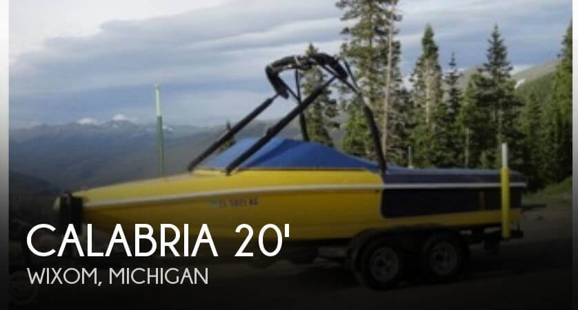 Used Calabria Boats For Sale by owner   2000 Calabria 20