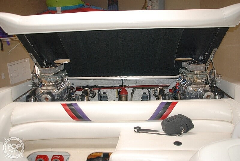 1999 Warlock boat for sale, model of the boat is 31 SXT CAT & Image # 4 of 40