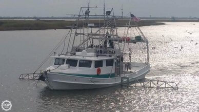 Lafitte 52 x 20 Shrimper Skimmer, 52', for sale - $270,000