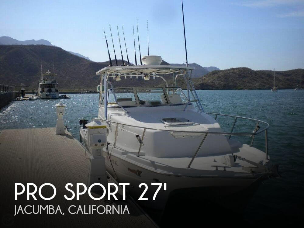 Used Boats For Sale in San Diego, California by owner | 2005 Pro Sport 27