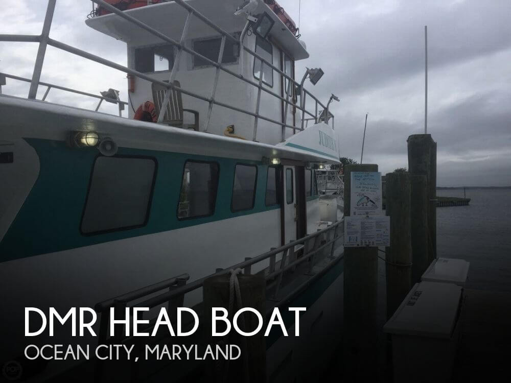 Dmr head boat for sale in ocean city md for 239 000 for Outboard motors for sale maryland