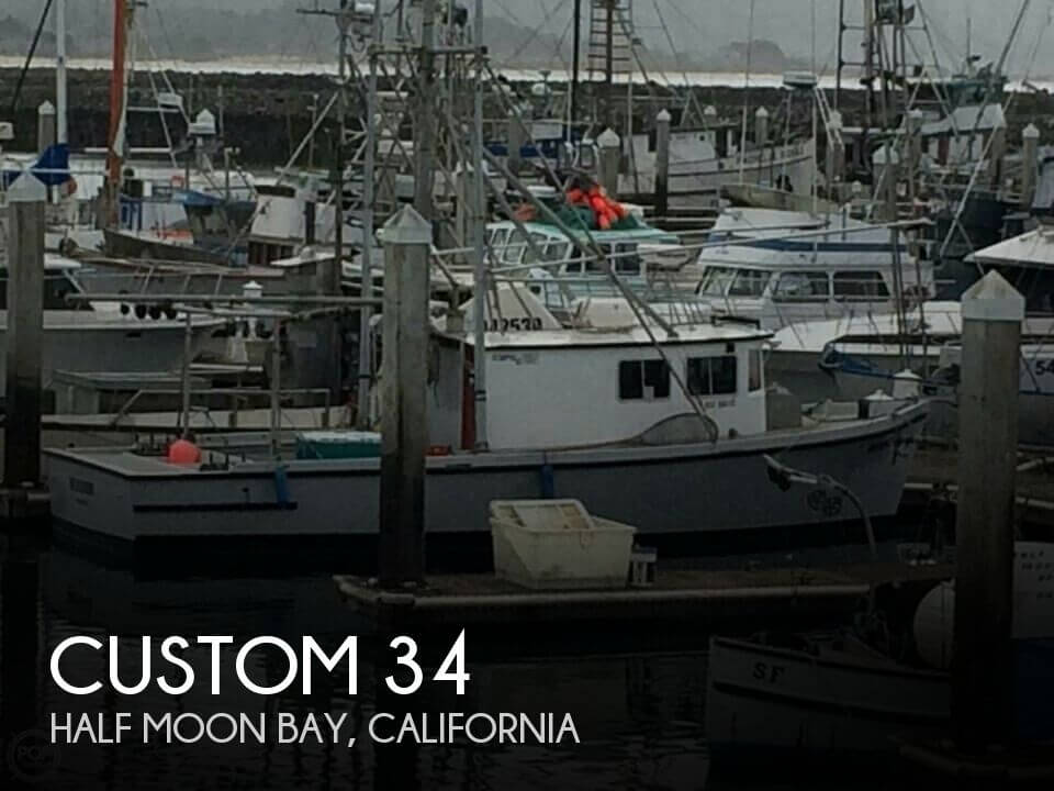 Used Boats For Sale in Santa Cruz, California by owner | 1980 Custom 34