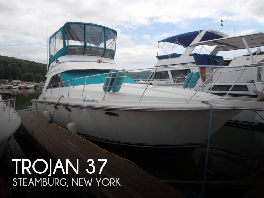 Used Boats For Sale in Buffalo, New York by owner | 1989 Trojan 37
