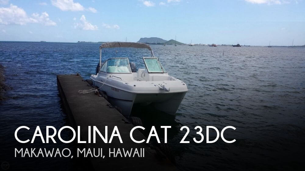 Used Boats For Sale in Hawaii by owner | 2013 Carolina Cat 22