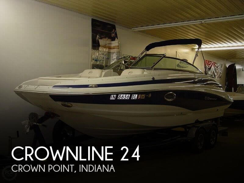 Used Crownline Deck Boats For Sale by owner | 2011 Crownline 24