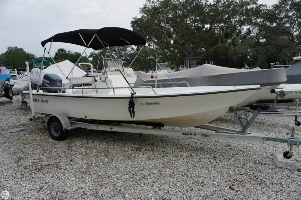 Sea Pro Sv2100 Cc For Sale In Palm Harbor  Fl For  15 000