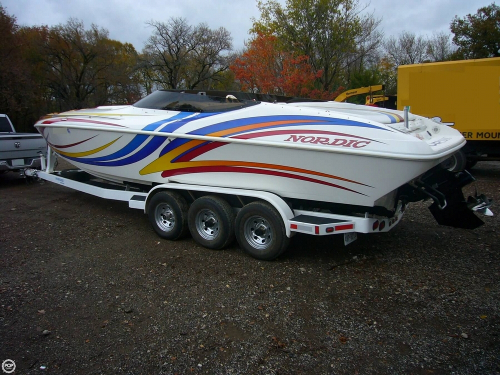 2007 Nordic Tugs boat for sale, model of the boat is Heat 28 Mid-Cabin & Image # 3 of 40